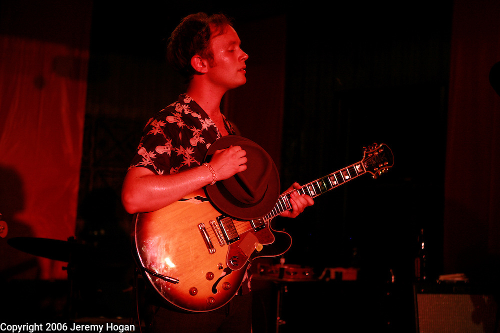 Swedish pop singer songwriter Jens Lekman performs at Second Story Nightclub in Bloomington, Indiana.