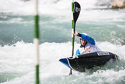 Martin Srabotnik of Slovenia competes in Kayak (K1) Men during International Slalom Kayak-Canoe competition, on May 6, 2018 in Tacen, Ljubljana, Slovenia. Photo by Vid Ponikvar / Sportida