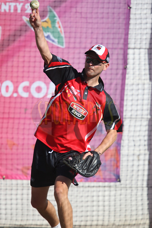 The South Australian Redbacks Indians training session held at Kingsmead Stadium in Durban on the 13 September 2010..Photo by: Steve Haag/SPORTZPICS/CLT20.