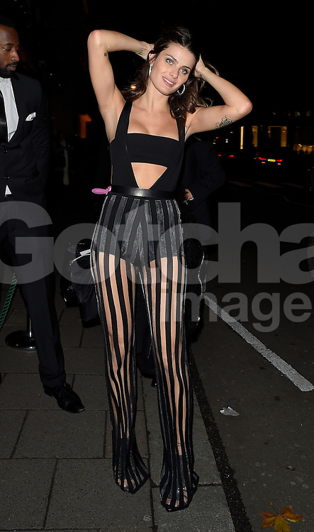 Isabeli Fontana attends the Chopard Christmas Party at Annabel's in Mayfair, London, UK. 02/12/2014<br />