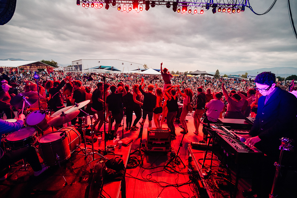 Belle & Sebastian at the 2017 Travelers' Rest Festival in Missoula, MT. Photo by Jason Quigley