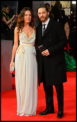 Tom Hardy; Kelly Marcel arrives for the EE BRITISH ACADEMY FILM AWARDS 2014 (BAFTA) at the The Royal Opera House in Covent Garden . London, United Kingdom. Sunday, 16th February 2014. Picture by Andrew Parsons / i-Images<br />