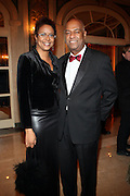 l to r: Harriett Cole and Noel Hankin at The Fifth Annual Grace in Winter Gala honoring Susan Taylor, Kephra Burns, Noel Hankin and Moet Hennessey USA and benfiting The Evidence Dance Company held at The Plaza Hotel on February 3, 2009 in New York City.