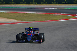 November 3, 2019, Austin, TX, USA: AUSTIN, TX - NOVEMBER 03: Red Bull Racing Honda driver Pierre Gasly (10) of France makes his way to turn 15 during the F1 - U.S. Grand Prix race at Circuit of The Americas on November 3, 2019 in Austin, Texas. (Photo by Ken Murray/Icon Sportswire) (Credit Image: © Ken Murray/Icon SMI via ZUMA Press)