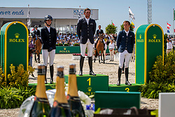 Kenny Darragh, Blum SImone, Allen Bertram<br /> Grand Prix Rolex powered by Audi <br /> CSI5* Knokke 2019<br /> © Hippo Foto - Dirk Caremans<br /> 30/06/2019