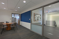 Architectural Interior image of Potomac School Flag Circle Building by Jeffrey Sauers of Commercial Photographics