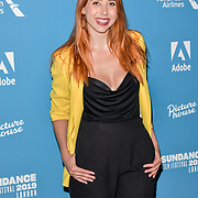 Hazel Haye is a YouTuber Arrivers at Sundance - Opening Night, on 30 May 2019, London, UK