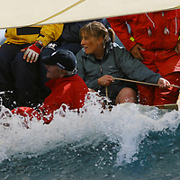 Equipage pendant les Voiles de St Tropez 2005