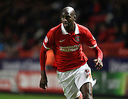 Charlton Athletic midfielder Alou Diarra during the Sky Bet Championship match between Charlton Athletic and Preston North End at The Valley, London, England on 20 October 2015. Photo by David Charbit.