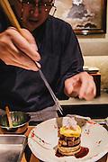 Chef Michihiro Kigawa Kigawa restaurant.