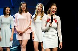 Anabelle Ann Logar during Miss sports event, on April 22, 2017 in Cankarjev dom, Ljubljana, Slovenia. Photo by Vid Ponikvar / Sportida