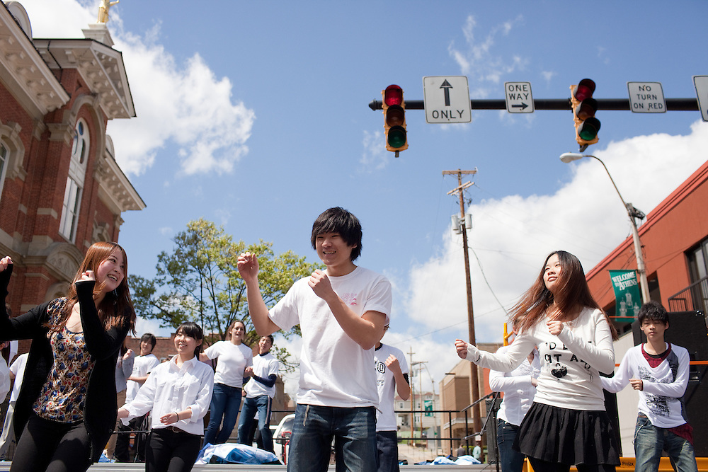 The International Street Fair was held on Court Street in Athens, Ohio on Saturday, April 20, 2013. Photo by Chris Franz