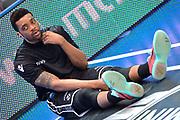 DESCRIZIONE : Trento Lega A 2014-15 <br /> Dolomiti Energia Trento vs Granarolo Bolognaa<br /> GIOCATORE : Ray Allan<br /> CATEGORIA : Riscaldamento<br /> SQUADRA : Granarolo Bologna<br /> EVENTO : Campionato Lega A 2014-2015 GARA :Dolomiti Energia Trento vs Granarolo Bologna<br /> DATA : 10/05/2015 <br /> SPORT : Pallacanestro <br /> AUTORE : Agenzia Ciamillo-Castoria/IvanMancini<br /> Galleria : Lega Basket A 2014-2015 Fotonotizia : Trento Lega A 2014-15 Dolomiti Energia Trento vs Granarolo Bologna<br /> Predefinita: