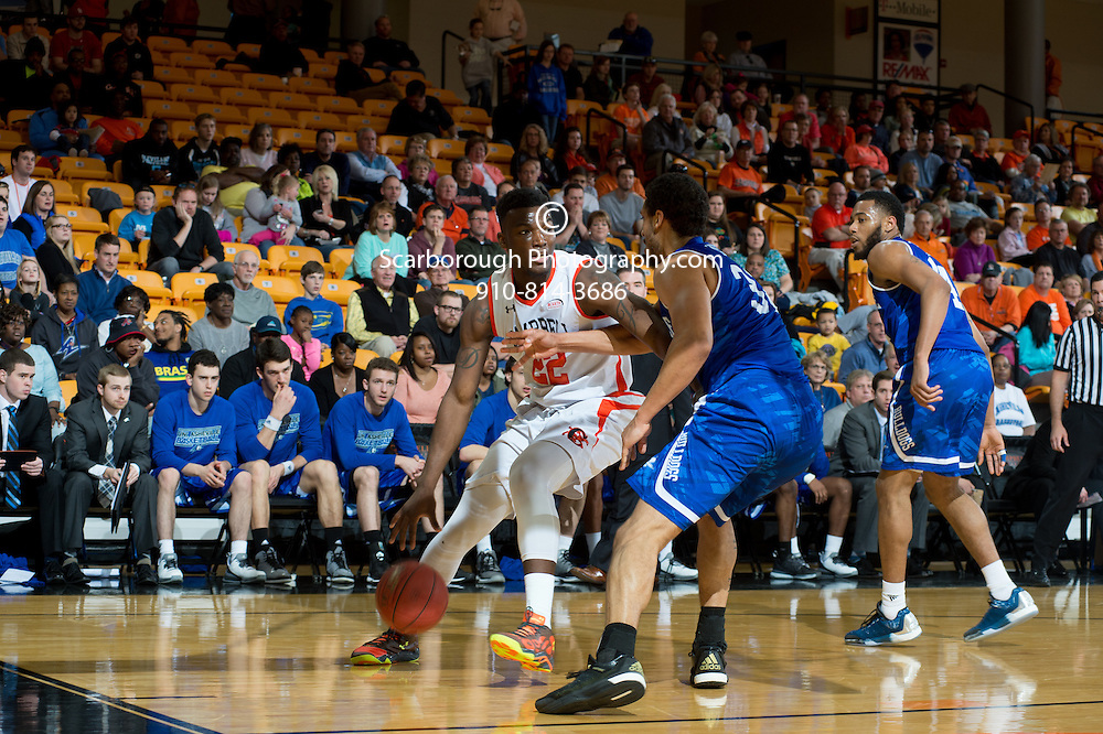 BUIES CREEK, NC - February 6th, 2016 - Campbell Camels and UNC Asheville at Gilbert Craig Gore Arena in Buies Creek, NC. Photo By Bennett Scarborough