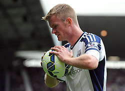West Bromwich Albion's Chris Brunt - Photo mandatory by-line: Joe Meredith/JMP - Mobile: 07966 386802 16/08/2014 - SPORT - FOOTBALL - West Bromwich - The Hawthorns - West Bromwich Albion v Sunderland - Barclays Premier League