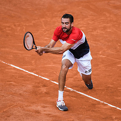Marin Cilic (Croatia) during Day 9 for the French Open 2018 on June 4, 2018 in Paris, France. (Photo by Anthony Dibon/Icon Sport)