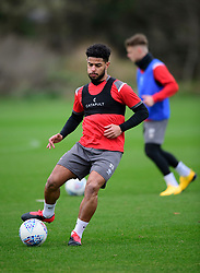 Lincoln City's Liam Bridcutt during a training session at the BMW Soper of Lincoln Elite Performance Centre, Scampton, Lincolnshire.<br /> <br /> Picture: Chris Vaughan Photography for Lincoln City FC<br /> Date: February 4, 2020