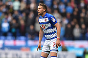 Chris Gunter (2) of Reading during the EFL Sky Bet Championship match between Reading and Ipswich Town at the Madejski Stadium, Reading, England on 28 April 2018. Picture by Graham Hunt.