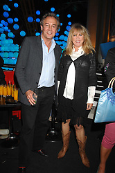 ROD WESTON and PATTI BOYD at the opening of the new Gaucho restaurant at the O2 Arena, London on 15th May 2008.<br />