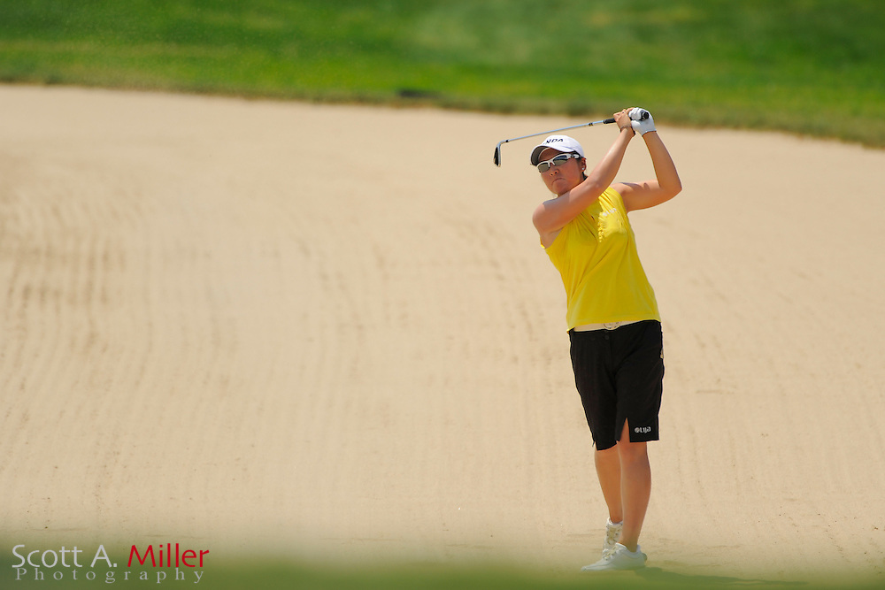 Candie Kung during the first round of the US Women's Open at Blackwolf Run on July 5, 2012 in Kohler, Wisconsin. ..©2012 Scott A. Miller