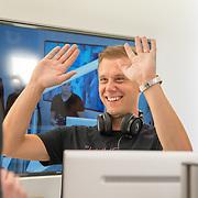 NLD/Amsterdam/20170202 - Armin van Buuren opent eigen A State Of Trance-radiostudio