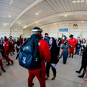 North Carolina State Wolfpack arrival in El Paso Texas for the 84th Annual Hyundai Sun Bowl. December 25, 2017