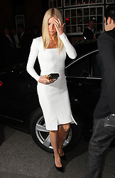 Gwyneth Paltrow arriving for the President Obama fundraising dinner hosted by Anna Wintour in London, Wednesday, 19th September 2012. Photo by: Stephen Lock / i-Images