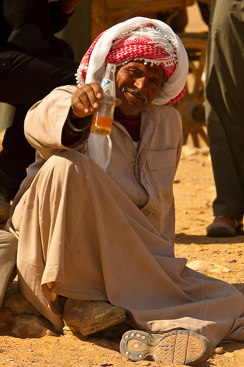 Camel drivers, The Great Pyramids of Giza, outside Cairo, Egypt