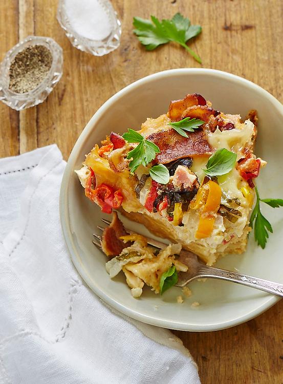 Bacon And Tomato Breakfast Casserole