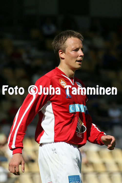 16.06.2007, Tammela, Tampere, Finland..Ykk?nen 2007.Tampereen Pallo-Veikot v Rovaniemen Palloseura.Janne Salli - TPV.©Juha Tamminen.....ARK:k