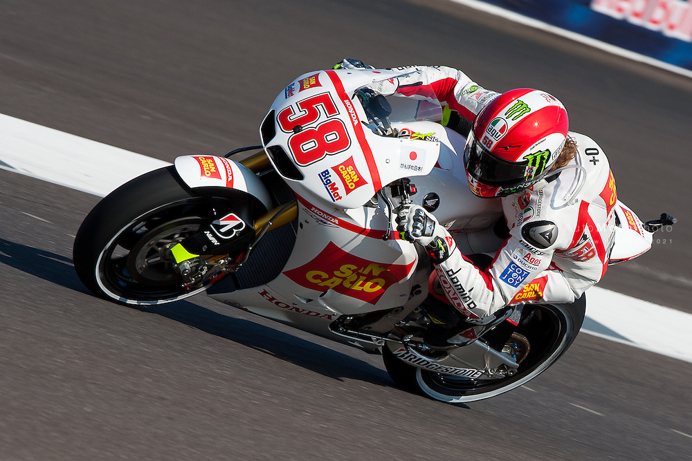 2011 MotoGP World Championship, Round 12, Indianapolis, USA, 28 August 2011, Marco Simoncelli