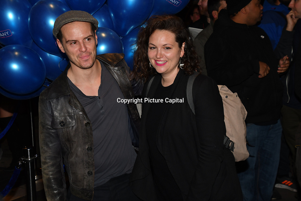 Andrew Scott attend the Company - Opening Night at Gielgud Theatre, London, UK. 17 October 2018.