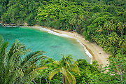 Englishman's Bay on the leeward coast of Tobago island, Trinidad & Tobago