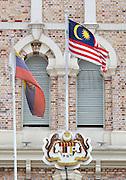 Malaysia, Kuala Lumpur. Dataran Merdeka (Independence Square).