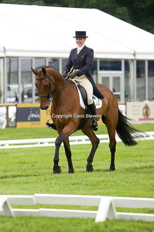 Olivia Wilmot riding Classy Touch<br /> Equi-Trek Bramham International Horse Trials  CCI*** Dressage