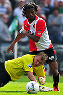 Onderwerp/Subject: Feyenoord - Willem II - Eredivisie<br /> Reklame:  <br /> Club/Team/Country: Feyenoord - Willem II<br /> Seizoen/Season: 2010/2011<br /> FOTO/PHOTO: Willem II's Vladan KUJOVIC (FRONT) in duel with Feyenoord's Georginio WIJNALDUM (BEHIND). (Photo by PICS UNITED)<br /> <br /> Trefwoorden/Keywords:  <br /> #04 $94 &plusmn;1279295324043<br /> Photo- &amp; Copyrights &copy; PICS UNITED <br /> P.O. Box 7164 - 5605 BE  EINDHOVEN (THE NETHERLANDS) <br /> Phone +31 (0)40 296 28 00 <br /> Fax +31 (0) 40 248 47 43 <br /> http://www.pics-united.com <br /> e-mail : sales@pics-united.com (If you would like to raise any issues regarding any aspects of products / service of PICS UNITED) or <br /> e-mail : sales@pics-united.com   <br /> <br /> ATTENTIE: <br /> Publicatie ook bij aanbieding door derden is slechts toegestaan na verkregen toestemming van Pics United. <br /> VOLLEDIGE NAAMSVERMELDING IS VERPLICHT! (&copy; PICS UNITED/Naam Fotograaf, zie veld 4 van de bestandsinfo 'credits') <br /> ATTENTION:  <br /> &copy; Pics United. Reproduction/publication of this photo by any parties is only permitted after authorisation is sought and obtained from  PICS UNITED- THE NETHERLANDS