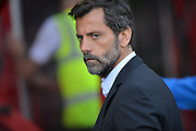 Watford FC manager Enrique Sanchez  during the Barclays Premier League match between Bournemouth and Watford at the Goldsands Stadium, Bournemouth, England on 3 October 2015. Photo by Mark Davies.
