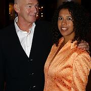 Modeshow Sheila de Vries 2004, Peter Faber en vrouw Suzanne van Dijk
