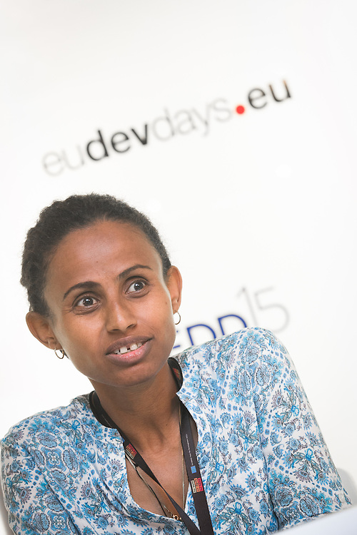 04 June 2015 - Belgium - Brussels - European Development Days - EDD - Climate - A plan for safer water supplies and sanitation in Africa - Atekelt Abebe Ketema ,<br /> Lecturer, School of Civil and Water Resources Engineering, Bahir Dar University &copy; European Union