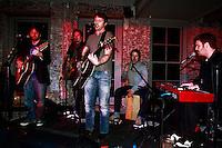 James Blunt performing at Villa Pacri on November 11, 2010.