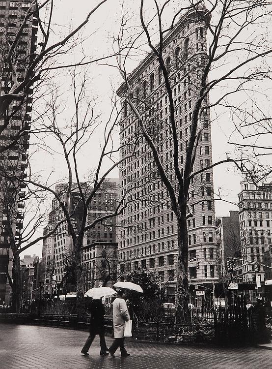 Flatiron, Rainy Day  NYC