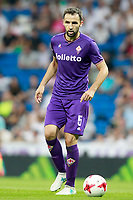 ACF Fiorentina's Milan Badelj during Santiago Bernabeu Trophy. August 23,2017. (ALTERPHOTOS/Acero)