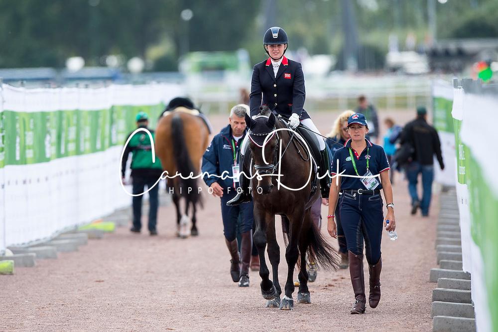 Natasha Baker, (GBR), Cabral - Team Competition Grade II Para Dressage - Alltech FEI World Equestrian Games™ 2014 - Normandy, France.<br /> © Hippo Foto Team - Jon Stroud <br /> 25/06/14
