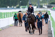 Para Dressage Team Test Grade II - Caen 2014