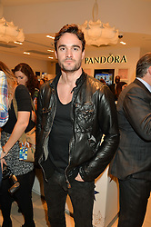 THOM EVANS at the #PandoraWishes Campaign Launch Event, Pandora Marble Arch flagship store, London on 12th November 2014.