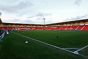 General view inside The Keepmoat Stadium during the EFL Sky Bet League 1 match between Doncaster Rovers and Barnsley at the Keepmoat Stadium, Doncaster, England on 15 March 2019.