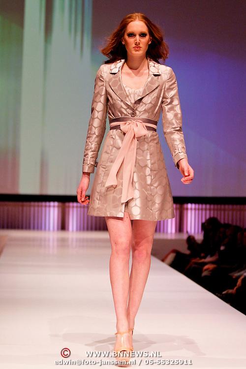 NLD/Amsterdam/20120313 - Modeshow Addy van den Krommenacker 2012,