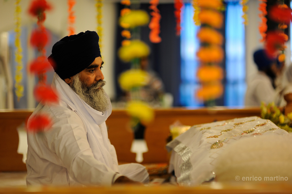 Pessina Cremonese. The Sikh Temple, recently opened, is the largest in Europe (excluding the UK), with 10,000 square meters of land and 600 construction.