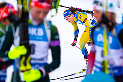 March 10, 2019 - –Stersund, Sweden - 190310 Hanna Öberg of Sweden looks dejected after the Women's 10 km Pursuit during the IBU World Championships Biathlon on March 10, 2019 in Östersund..Photo: Petter Arvidson / BILDBYRÃ…N / kod PA / 92254 (Credit Image: © Petter Arvidson/Bildbyran via ZUMA Press)