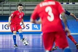 Everton Cardoso of Azerbaijan during futsal match between France and Azerbaijan at Day 4 of UEFA Futsal EURO 2018, on February 2, 2018 in Arena Stozice, Ljubljana, Slovenia. Photo by Urban Urbanc / Sportida